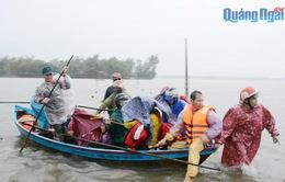 Ứng phó với bão số 6: Quảng Ngãi lên phương án di dời trên 15.000 hộ dân bị ảnh hưởng