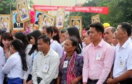 Điện, Thư chúc mừng 66 năm Quốc khánh Campuchia
