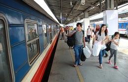 Nhiều mức giảm giá vé tàu Tết cho khách tập thể