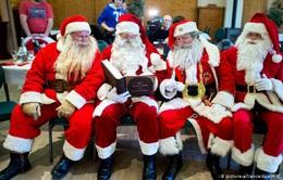 Dịch vụ đóng giả ông già Noel vào mùa kiếm bộn tiền tại Mỹ