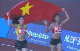 """VIDEO: Nguyễn Thị Oanh """"mở hàng"""" HCV cho Thể thao Việt Nam trong ngày 10/12"""