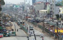 Tổ chức lại giao thông qua cầu Mai Động