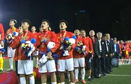 Khoảnh khắc đăng quang chức vô địch SEA Games của U22 Việt Nam
