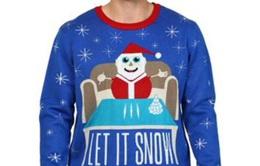 """Walmart xin lỗi vì bán áo """"người tuyết dùng ma túy"""""""