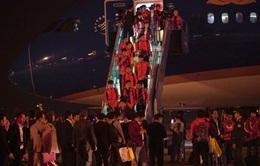 Đoàn Thể thao Việt Nam về nước sau thành công ở SEA Games 30