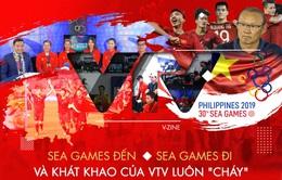 """SEA Games đến, SEA Games đi và khát khao của VTV luôn """"cháy"""""""