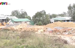 Quảng Ngãi: Dự án đường Trì Bình – Dung Quất thi công ì ạch