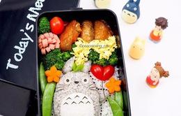 Những đĩa cơm bento hấp dẫn giúp trẻ bớt biếng ăn