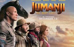Bom tấn ''Jumanji: The next level'' lôi cuốn người hâm mộ Bắc Mỹ