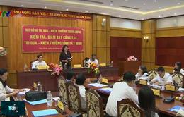 Phó Chủ tịch nước Đặng Thị Ngọc Thịnh làm việc tại Tây Ninh, Quân khu 7