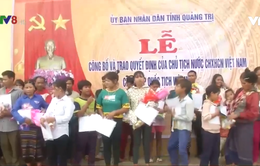 Quảng Trị trao Quốc tịch cho những người di cư từ Lào về