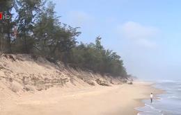 TT-Huế: Bờ biển liên tục sạt lở, xâm thực
