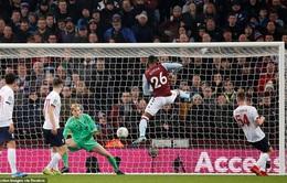 Tứ kết Cúp Liên đoàn Anh: Aston Villa 5-0 Liverpool
