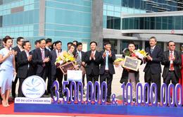Khánh Hòa đón vị khách quốc tế thứ 3,5 triệu