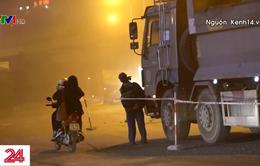Hà Nội: Ô nhiễm khói bụi do sửa mặt đường