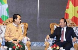 Thủ tướng tiếp Thủ hiến vùng Yangon
