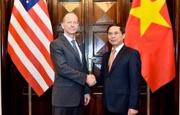Công bố biểu tượng kỷ niệm 25 năm thiết lập quan hệ ngoại giao Việt Nam - Hoa Kỳ