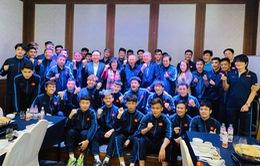 Đại sứ đặc mệnh toàn quyền Việt Nam tại Hàn Quốc thăm đội tuyển U23 Việt Nam