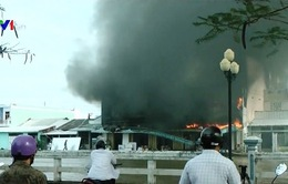 Bạc Liêu: Cháy cửa hàng điện máy do thợ hàn bất cẩn