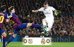 Siêu kinh điển, Barcelona 0-0 Real Madrid: Chia điểm kịch tính ở Nou Camp