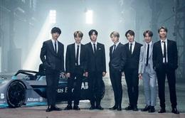 BTS được chọn làm gương mặt đại diện cho Formula E Racing Championship