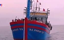 Cứu 14 ngư dân gặp nạn trên biển Nghệ An