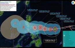 Philippines sơ tán dân phòng tránh bão Kammuri
