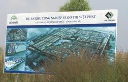 """Dự án khu công nghiệp """"treo"""" hơn 10 năm tại Long An"""