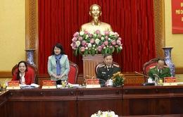 Đoàn kiểm tra, giám sát của Hội đồng Thi đua - Khen thưởng Trung ương làm việc tại Bộ Công an