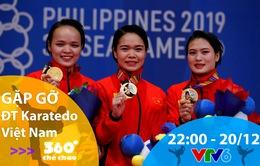 """Gặp gỡ ĐT Karatedo Việt Nam trong bản tin """"360 độ Thể thao"""""""