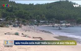 Mâu thuẫn giữa phát triển du lịch và bảo tồn biển