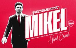 CHÍNH THỨC: Mikel Arteta trở thành HLV trưởng CLB Arsenal
