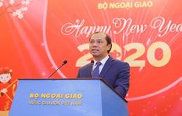 Gặp gỡ phóng viên, trợ lý và tùy viên báo chí nước ngoài tại Việt Nam dịp năm mới 2020