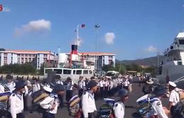 Khánh Hòa: Lễ xuất quân đi Trường Sa