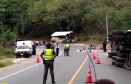 Tai nạn giao thông thảm khốc ở Guatemala, ít nhất 21 người thiệt mạng