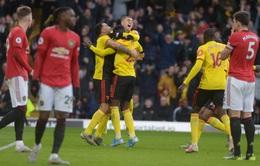 Kết quả, bảng xếp hạng Ngoại hạng Anh vòng 18: Tottenham 0-2 Chelsea, Watford 2-0 Man Utd, Liverpool vẫn dẫn đầu BXH