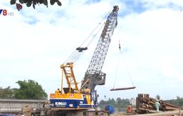 Quảng Nam đẩy nhanh tiến độ xây dựng cầu Hà Tân