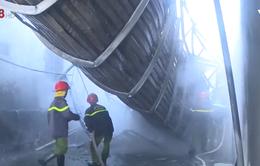 Cháy kho hàng tại thành phố Huế