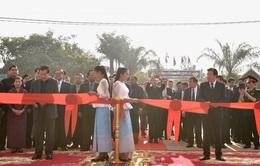 Việt Nam tặng Campuchia công trình chợ biên giới kiểu mẫu