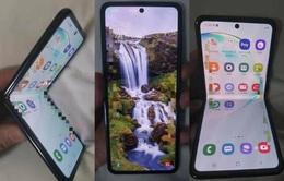 Lộ ảnh thực tế smartphone màn hình gập mới của Samsung?