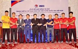 Liên đoàn bóng đá Việt Nam ký kết hợp đồng với Grand Sport Group