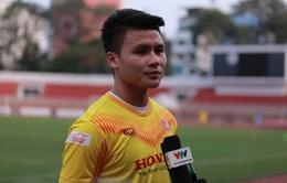 Quang Hải bật mí về phương án thay thế Đoàn Văn Hậu trong đội hình U23 Việt Nam