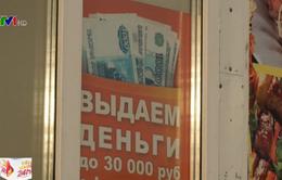 Trên 50% người dân Nga tìm tới các khoản vay tín dụng tiêu dùng