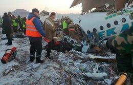 Rơi máy bay tại Kazakhstan, 9 người thiệt mạng