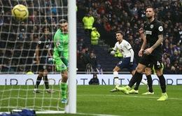 Tottenham 2-1 Brighton: 3 điểm nhọc nhằn