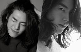 Sốc nặng trước mái tóc dài thướt tha của Kim Woo Bin