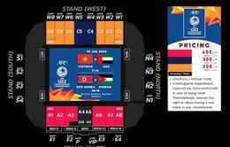 Cách mua vé cổ vũ U23 Việt Nam ở Vòng chung kết U23 châu Á diễn ra tại Thái Lan
