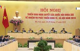 Hội nghị Chính phủ với địa phương chuẩn bị cho năm 2020