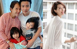 Sinh con thứ 3, Thái Thiếu Phân được chồng hỗ trợ hết sức