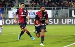 Cagliari 4-3 Sampdoria: Ngược dòng ngoạn mục